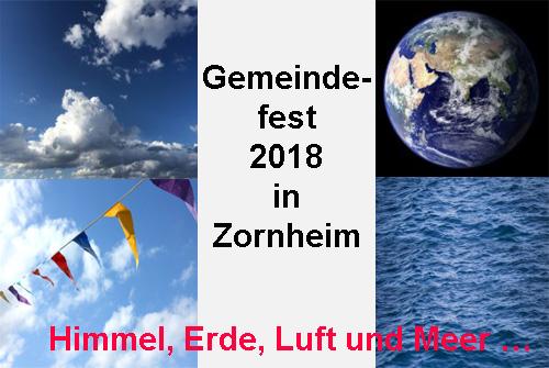 Gemeindefest Zornheim