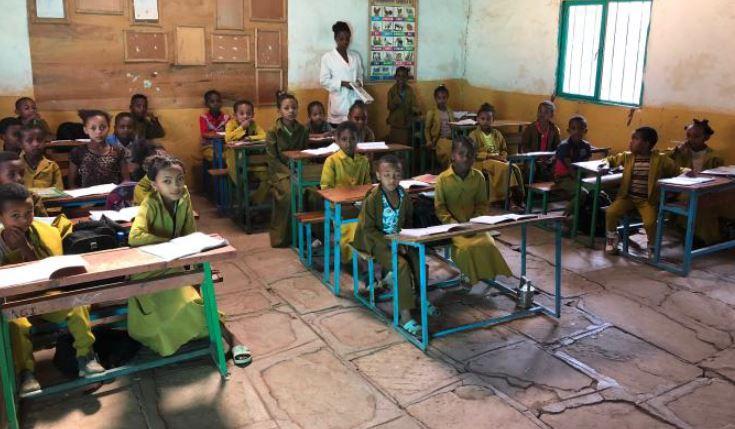 Besuch der Schule Hundee Guddinaa in Ambo im Februar 2019