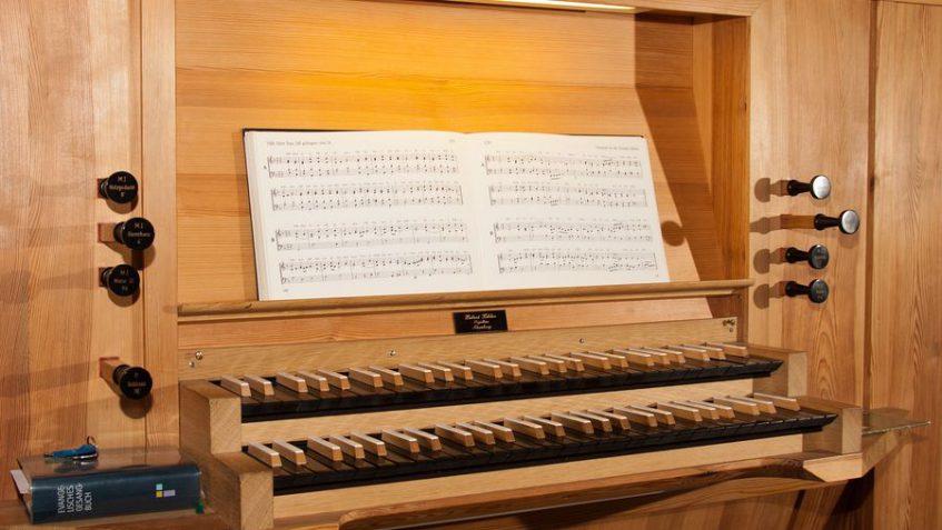 Orgelmusik Beerdigung Bach