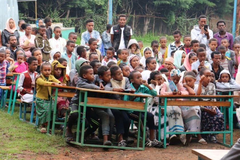 Neues von der Schule Hundee Guddinaa in Ambo vom Juli 2019