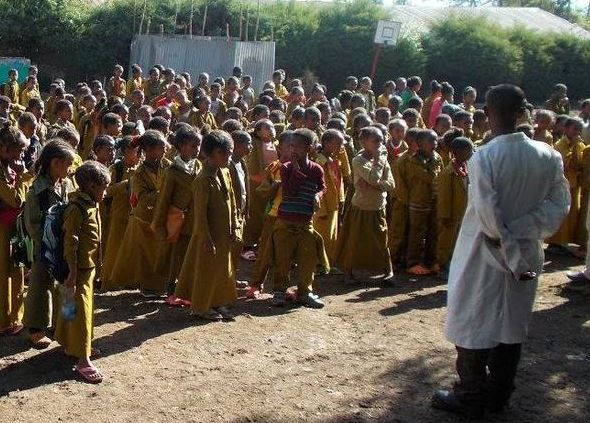 Schule in Äthiopien droht das Aus