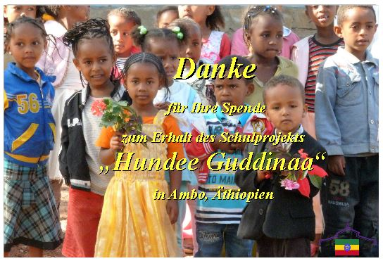 Abschluß des alten Schuljahr 2020/21 in Ambo/ Äthiopien