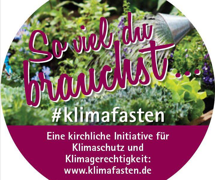 KLIMAFASTEN - Eine Fastenaktion für Klimaschutz und Klimagerechtigkeit
